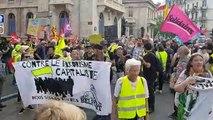 Les gilets jaunes restent mobilisés place de la République