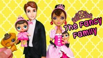 SWTAD LOL Families - The Fancy Family Bag Trouble - Toys and Dolls Fun for Kids Playing with LOL