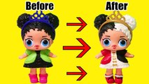 Painting Fake LOL Surprise Babies - Toys and Dolls Fun for Kids Drawing - Painting LOL Doll - SWTAD