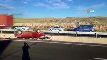 Kayseri'de trafik kazası: 4 yaralı