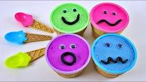 4 Color Kinect Sand Ice Cream Cups Pj Masks MonsterKids