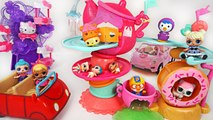 Let's Go to the Num Noms Go Go Cafe- Roling Toys Play with Pororo, LOL Dolls - PinkyPopTOY