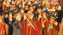 Les autochtones boliviens entrent dans l'année 5527