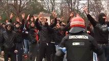 Tres ultras franceses detenidos por los altercados de San Mamés
