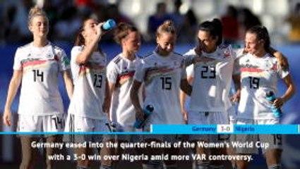 FOOTBALL: FIFA Women's World Cup: Fast Match Report - Germany 3-0 Nigeria