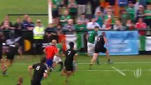 Ireland score sensational try with epic offloads