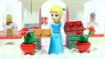 Elsa Frozen Brick Building Cake Bakery Lego Superhero Animation