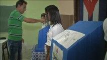 Cuba celebra una jornada electoral histórica