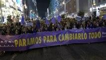 Las mujeres hacen historia y se hacen con las calles de Madrid