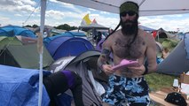 Hellfest : dans la tente des festivaliers