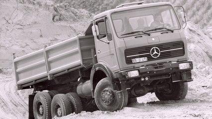 Die Geschichte der Mercedes-Benz Trucks