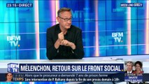 Jean-Luc Mélenchon, retour sur le front social (2/2)