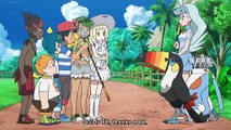 Pokemon Sun and Moon Ultra legends dubbed episode 18- Keeping your eyes on  the ball!