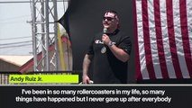 (Subtitled) 'I never gave up' - Andy Ruiz Jr on achieving dream as heavyweight world champion