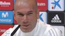 """Zidane: """"Yo siempre voy a estar con mis jugadores, por mí que sigan todos"""""""