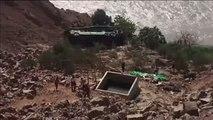 Más de 30 muertos y 20 heridos tras un accidente de autobús en Perú