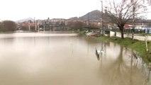Alerta amarilla por la crecida de los ríos