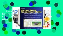 Learn Excel 2010 Essential Skills with the Smart Method  Review About For Books  Learn Excel