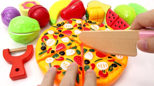 Learn Fruits Vegetables Food Toy Cutting Food for Children Toddlers