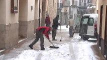 La provincia de Castellón continúa en alerta naranja por fuertes nevadas
