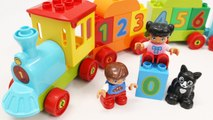 Building Blocks Toys for Children Lego Number Train Educational Toy