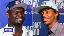 Will Zion save the Pelicans? Is Ja Morant or RJ Barrett the better draft pick? - Around the Horn