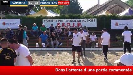 Supranational à pétanque d'Herblay juin 2019 : Huitième BARBEL vs BONNAN