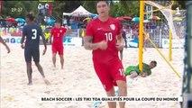 Beach Soccer : Les tikitoa décrochent leur ticket pour le mondial