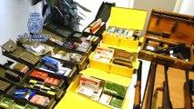 La Policía Nacional incauta en Galicia numerosas armas de fuego y municiones