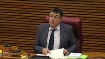 Las Corts valencianas aprueban la salida de Camps del Consejo Jurídico