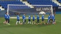 El C.D Leganés prepara el partido contra el Real Madrid