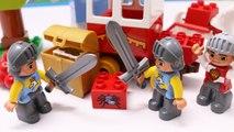 Building Blocks Toys for Children Lego Duplo Town Treasure