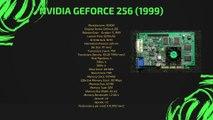 Evolution of NVIDIA GeForce 1999-2018 (GeForce 256-RTX 2080Ti)