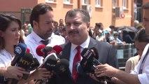 """Sağlık Bakanı Koca: """"Bugün 3 binin üzerinde sağlık personelimiz nöbet tutmaktadır"""""""