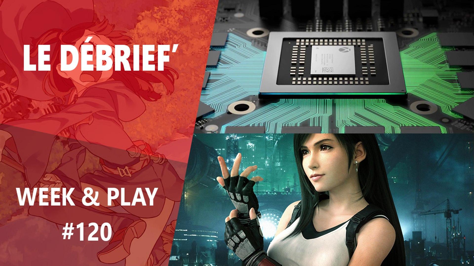 Débrief' : Polémique Tifa dans FF7, Xbox Lockhart et Little Witch Academia VR