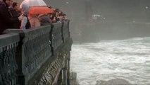 Imprudencia mortal en Deba (Guipúzcoa) tras acercarse a ver el temporal marítimo