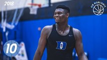 Zion Williamson Top 10 Plays from 2018 Duke Canada Tour