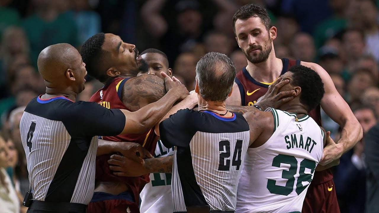 Best of Fights and Scuffles of the 2018 NBA Preseason