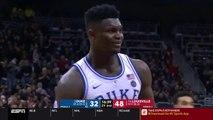 Zion Williamson vs Louisville - Full Highlights - 27 Pts, 12 Rebs - 12.02.19
