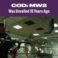 Call Of Duty: MW2 Was Unveiled 10 Years Ago
