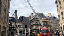 Incendie de la Maison de la Mère Pourcel : la nécessaire sécurisation des lieux