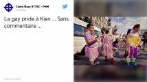 La gay pride a réuni des milliers de personnes dans la capitale ukrainienne