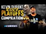 Kevin Durant COMPLETE 2017 Playoffs Highlights - 28.5 PPG, 55 FG-, 44 3PT-- - FreeDawkins