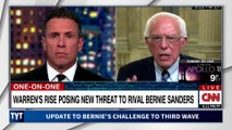 Bernie Sanders Issues Challenge To Corporate Democrats