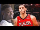 Zion Williamson On Pelicans Draft, Lonzo Ball, Brandon Ingram - Anthony Davis Trade-