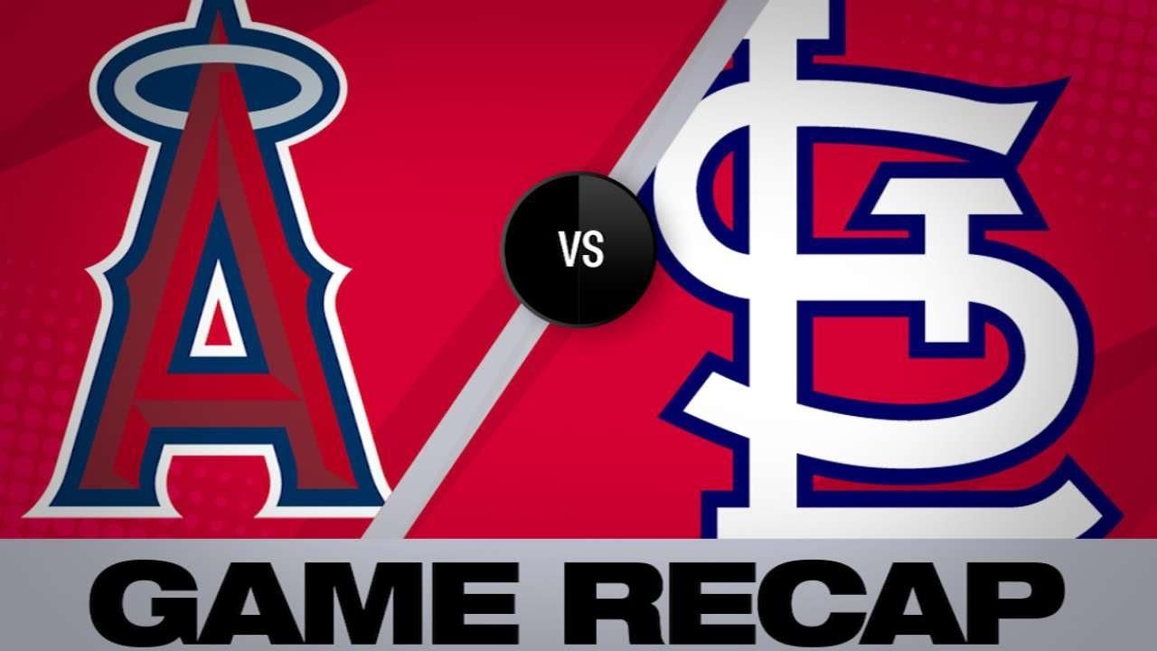 Ozuna, Hudson lead Cards past Angels, 4-2 - Angels-Cardinals Game Highlights 6/22/19