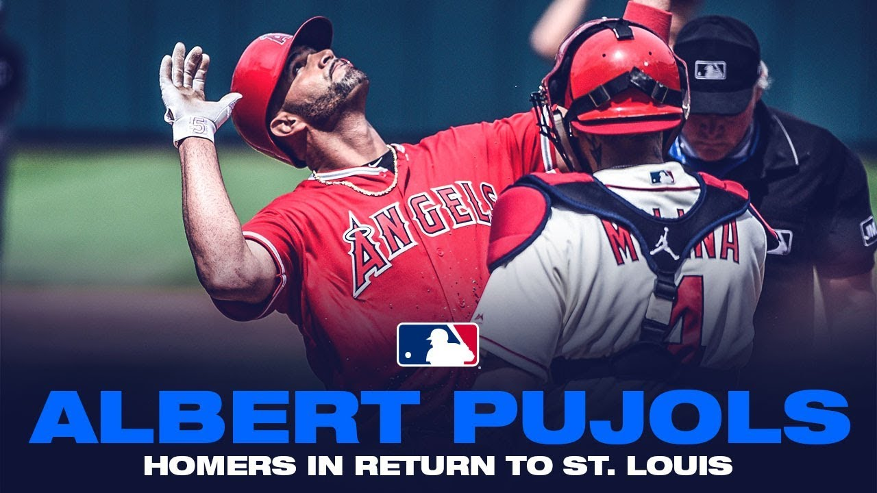 Albert Pujols homers during emotional St. Louis return, gets standing ovation from Cardinals fans