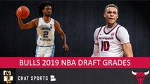 Bulls Draft Grades From The 2019 NBA Draft On Coby White and Daniel Gafford