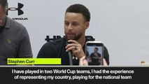 (Subtitled) Stephen Curry on Olympics and Tokyo ambition