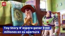 Toy Story 4 espera ganar 140 millones en su apertura